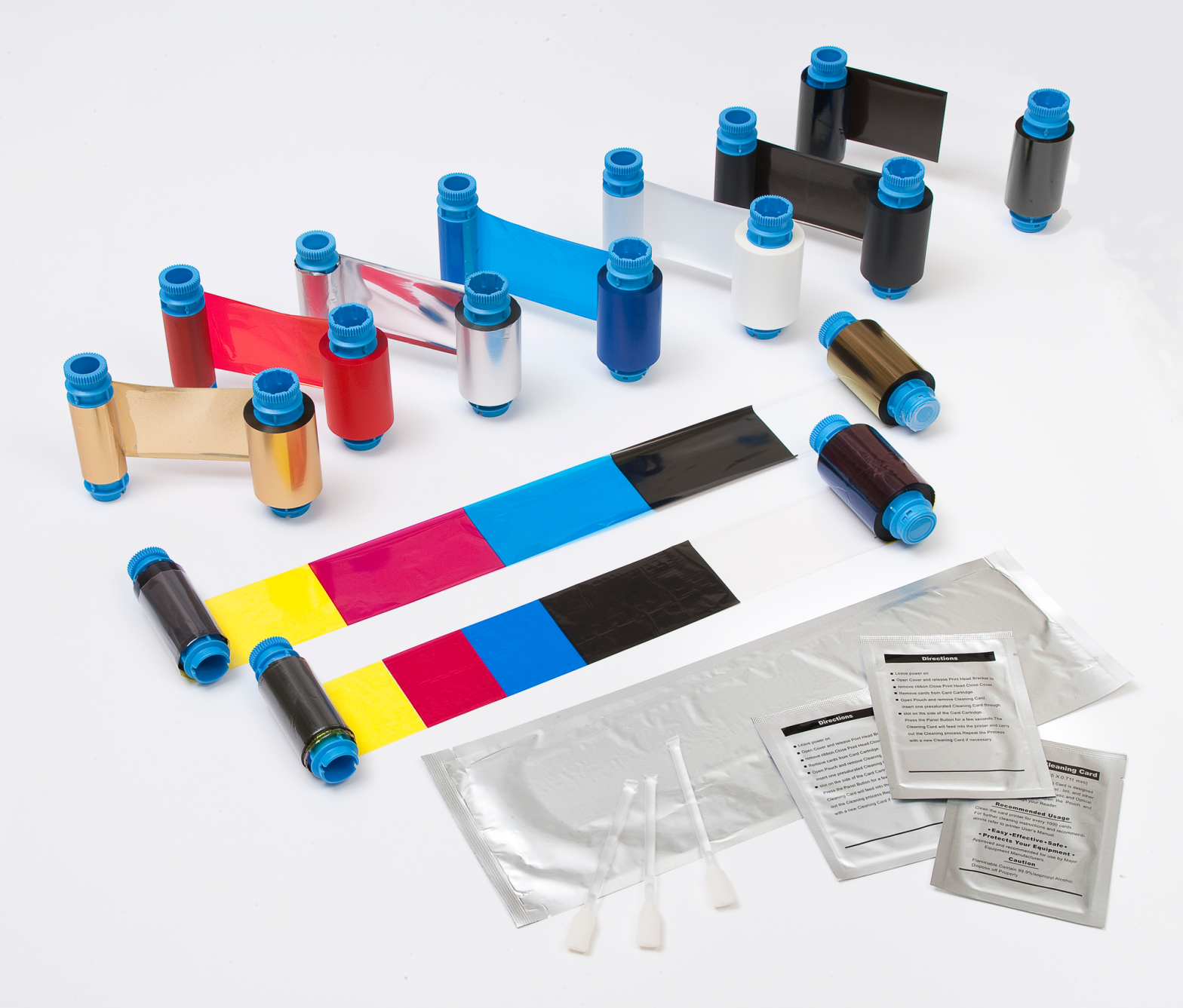 card printer cleaning products