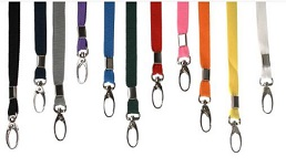 Colour lanyards