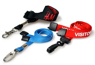 Stock Plain & Printed Lanyards
