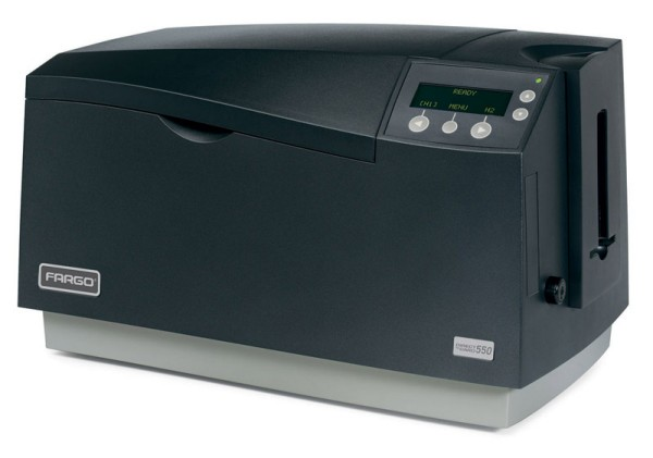 Fargo DTC550 printer