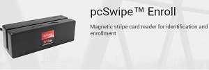 pcSwipe intelligent magnetic stripe card reader