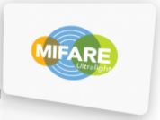 Plain white ISO card MIFARE Ultralight Card