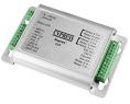 Reader expansion module - RS-485 for SPX-7400, SPX-7200, SPX-55XX products Supports reader and 2 relays with LED, door hardware and associated I/O. 8 - 16 VDC required. Durable aluminum housing - Overall dimension 4.25″  x 3 x .75″  (approx). Only compatible with Wiegand readers. Not fully compatible keypad readers.