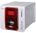 Evolis Zenius Expert With GEMPC USB-TR Smart Card Encoder - USB & Ethernet (Fire Red)