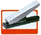 "Basic stapler style without guide. Slot size 1/8"" x 5/8"" (3mm x 16mm) Type D"